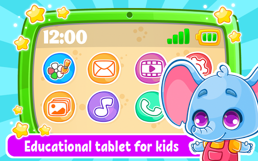 Babyphone amp tablet – baby learning games drawing mod screenshots 1