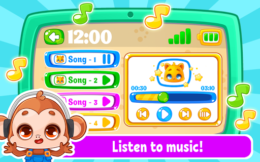 Babyphone amp tablet – baby learning games drawing mod screenshots 3