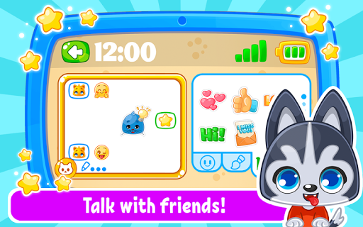 Babyphone amp tablet – baby learning games drawing mod screenshots 5