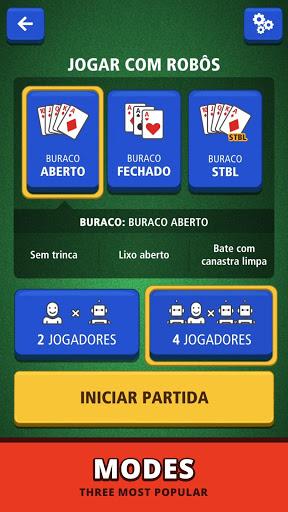 Buraco Canasta Jogatina Card Games For Free mod screenshots 5