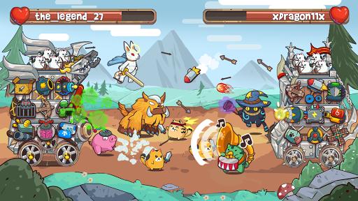 CatnRobot Idle Defense – Cute Castle TD PVP mod screenshots 3