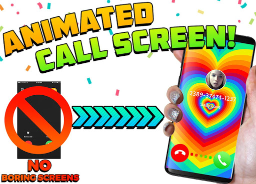 Color Screen Phone Call Flash Themes – Calloop mod screenshots 1