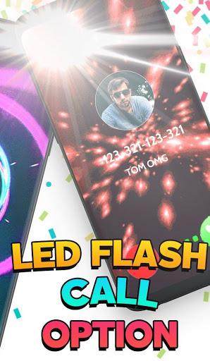 Color Screen Phone Call Flash Themes – Calloop mod screenshots 3