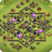 Maps of Coc TH9 MOD