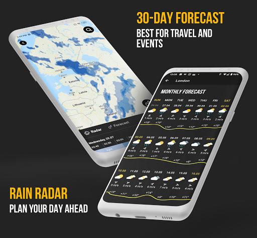 MeMeteo – global forecast amp hurricane tracker mod screenshots 1