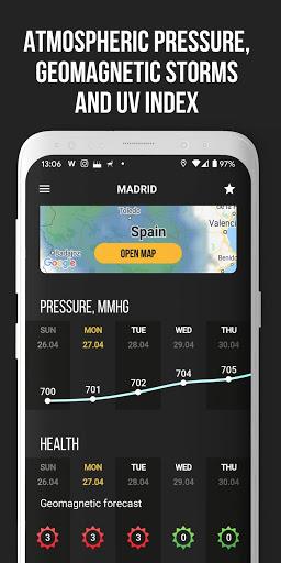 MeMeteo – global forecast amp hurricane tracker mod screenshots 5