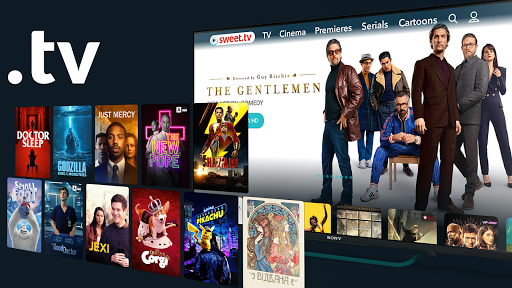 SWEET.TV for TV. 260 TV channels and TOP movies mod screenshots 2