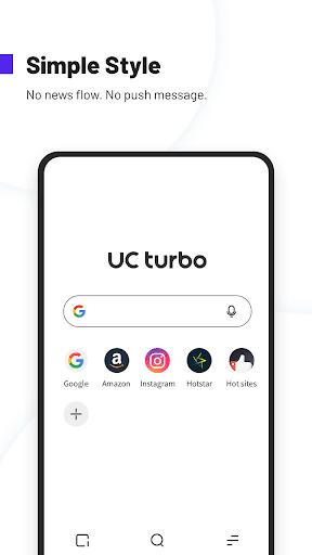 UC Browser Turbo- Fast Download Secure Ad Block mod screenshots 1