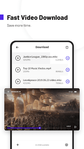 UC Browser Turbo- Fast Download Secure Ad Block mod screenshots 4