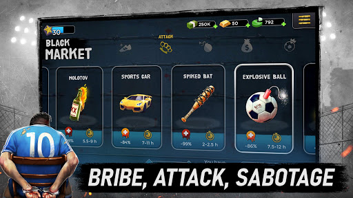 Underworld Football Manager – Bribe Attack Steal mod screenshots 5
