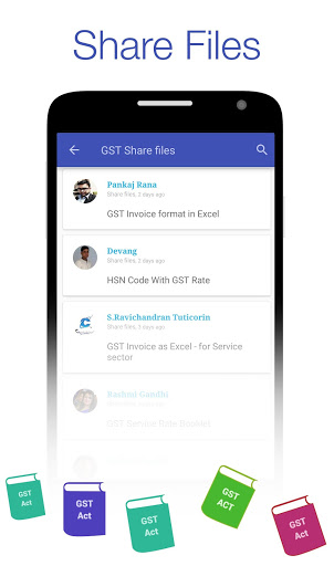 GST Connect – Rate amp HSN Finder GST Act amp Rules mod screenshots 4