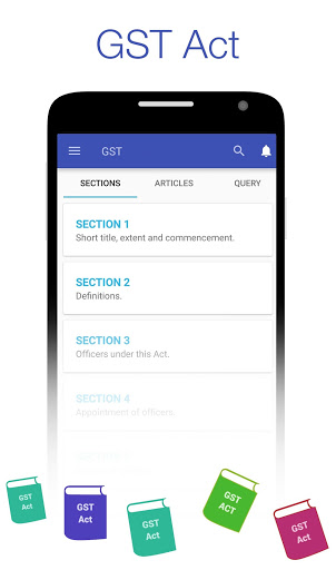GST Connect – Rate amp HSN Finder GST Act amp Rules mod screenshots 5