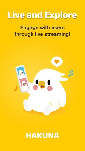 Hakuna Live Stream Meet and Chat Make Friends mod screenshots 1