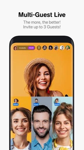 Hakuna Live Stream Meet and Chat Make Friends mod screenshots 2