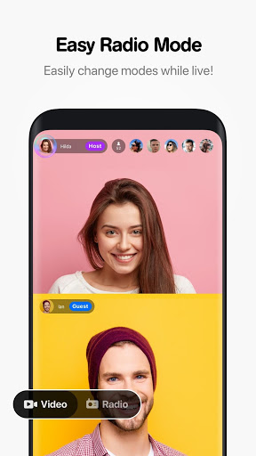 Hakuna Live Stream Meet and Chat Make Friends mod screenshots 3