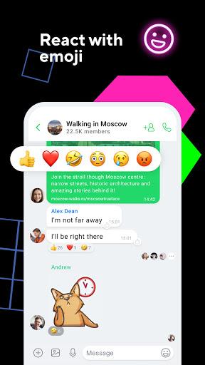 ICQ New Messenger App Video Calls amp Chat Rooms mod screenshots 1