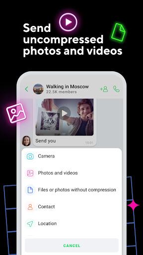 ICQ New Messenger App Video Calls amp Chat Rooms mod screenshots 5