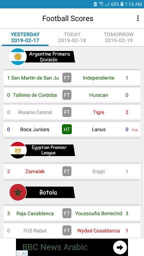Live Football Scores mod screenshots 3