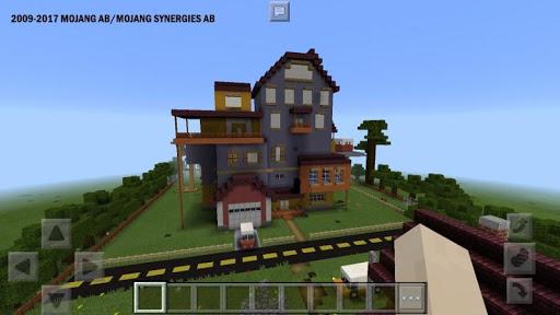 Maps Hello Neighbor for MCPE mod screenshots 2