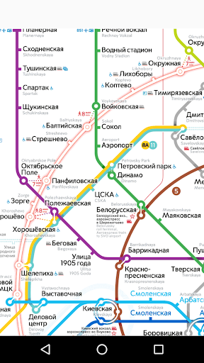 Moscow metro map mod screenshots 1