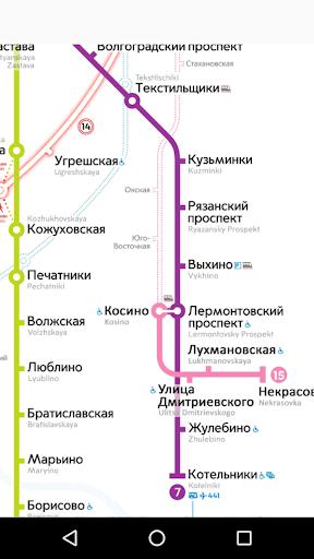 Moscow metro map mod screenshots 2
