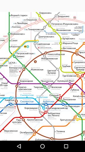 Moscow metro map mod screenshots 3