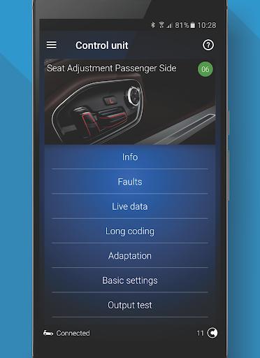 OBDeleven car diagnostics mod screenshots 3