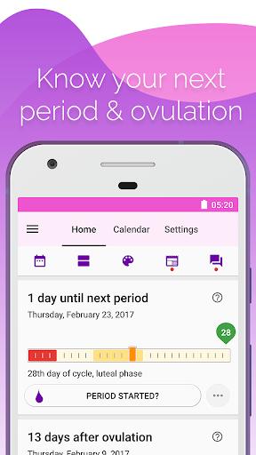 Period and Ovulation Tracker mod screenshots 1