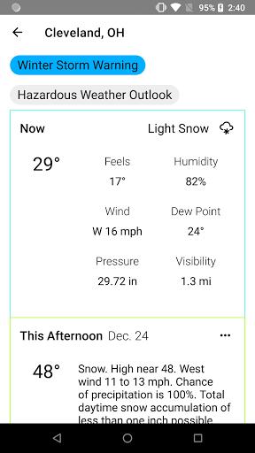 Radar X Weather Radar Alerts Forecast mod screenshots 4