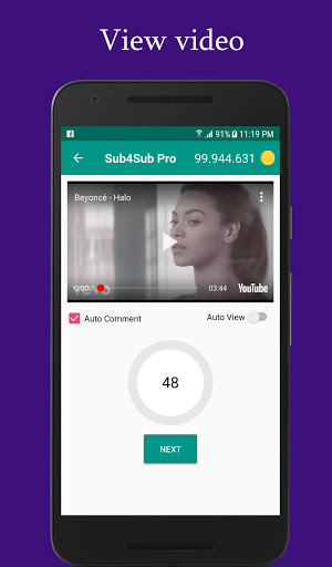 Sub4Sub Pro – View4View – Get Free Views For Video mod screenshots 4