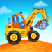 Truck games for kids – build a house, car wash MOD