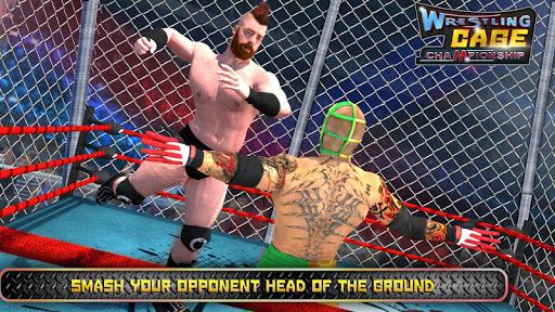 Wrestling Cage Championship WRESTLING GAMES mod screenshots 1