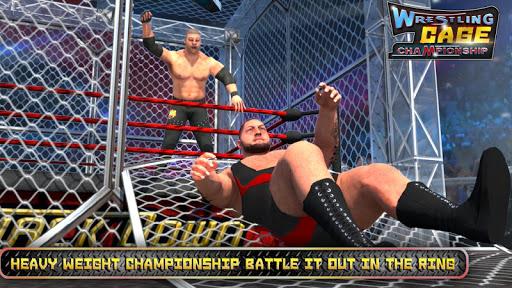 Wrestling Cage Championship WRESTLING GAMES mod screenshots 2