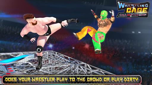 Wrestling Cage Championship WRESTLING GAMES mod screenshots 5