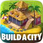 Town Building Games: Tropic City Construction Game MOD