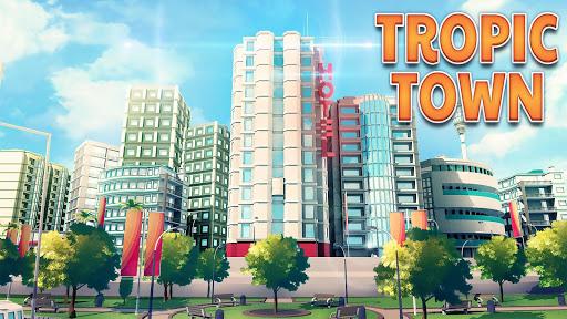 Town Building Games Tropic City Construction Game mod screenshots 1
