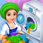 Laundry Service Dirty Clothes Washing Game MOD